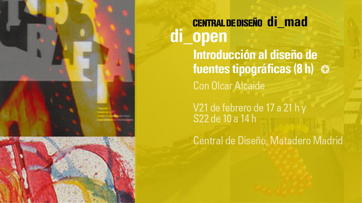 di_open   Curso de introducción al diseño y edición de fuentes digitales (8h)