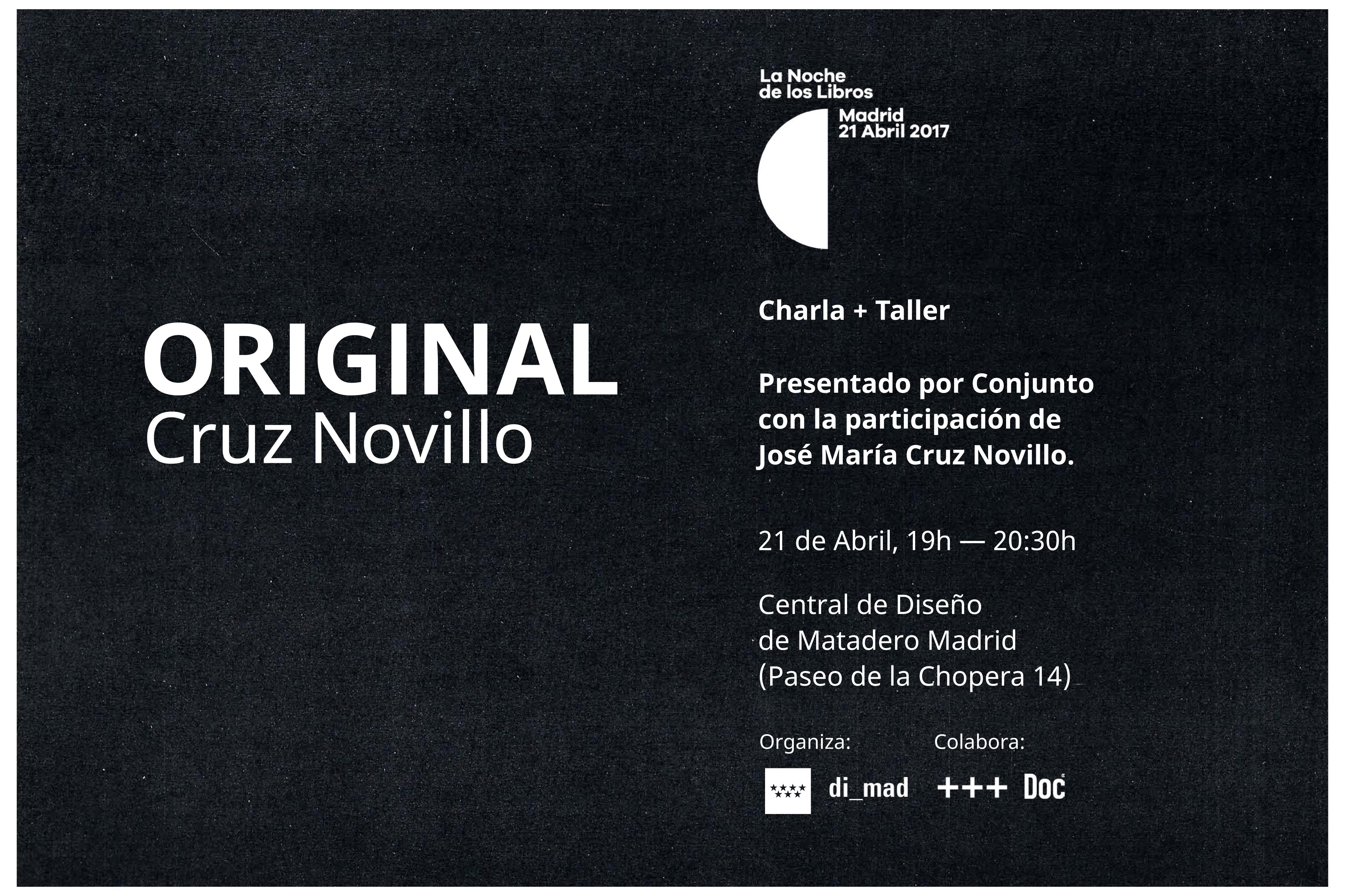 """Presentación """"Original de Cruz Novillo"""""""