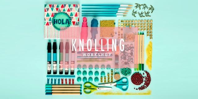Taller infantil de creatividad y diseño: knolling