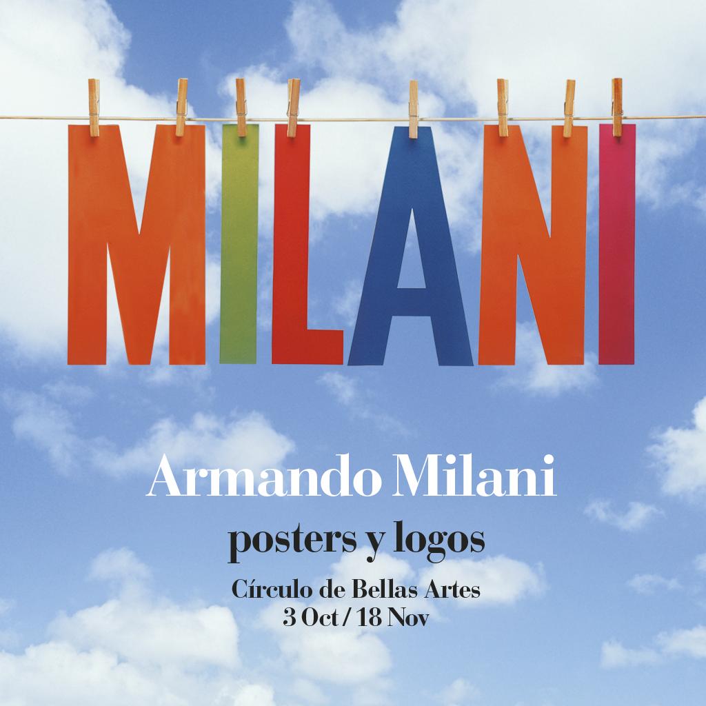 Armando Milani. Posters y logos.